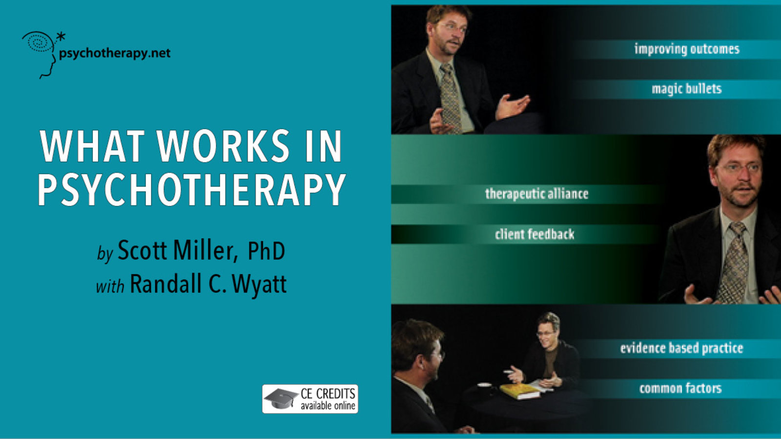 What Works in Psychotherapy - With Scott Miller
