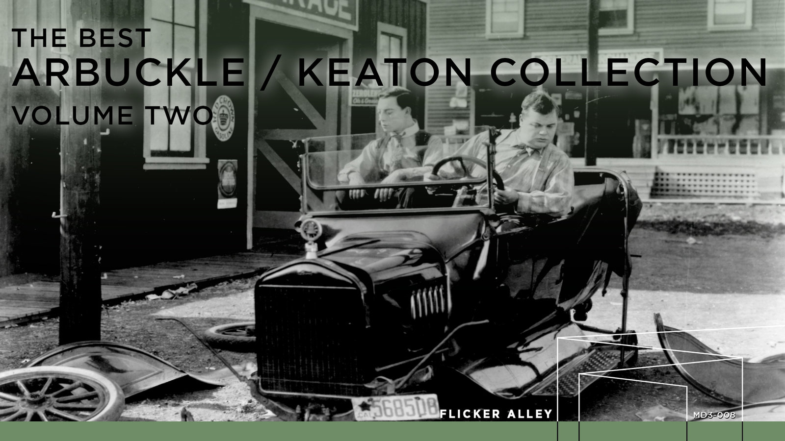 The Best Arbuckle/Keaton Collection Volume Two