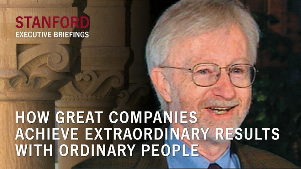 How Great Companies Achieve Extraordinary Results