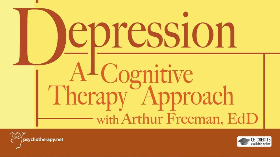 Depression: A Cognitive Therapy Approach