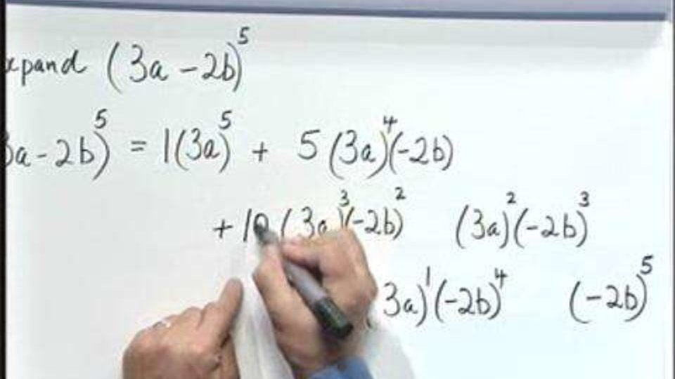Pascal's Triangle and the Binomial Theorem