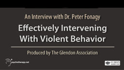Effectively Intervening with Violent Behavior