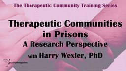 Therapeutic Communities in Prison - A Research Perspective
