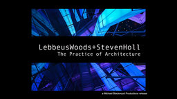 Lebbeus Woods + Steven Holl - The Practice of Architecture