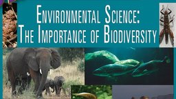 Environmental Science - The Importance of Biodiversity