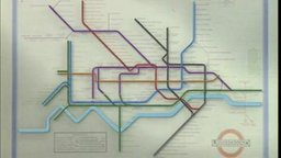 The London Transport Underground Map