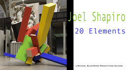 Joel Shapiro: 20 Elements - A Conversation with the American Sculptor