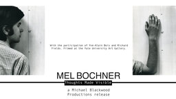 Mel Bochner: Thoughts Made Visible - The Work of a Conceptual Artist